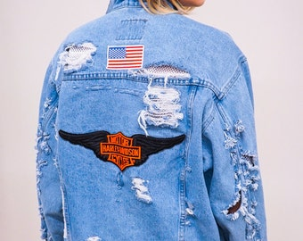 UR BF's Denim Jacket (M/L)