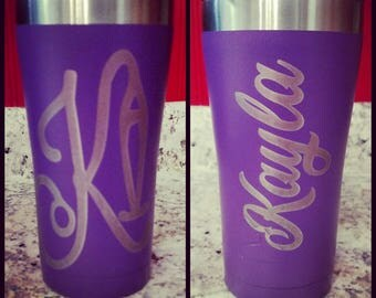 Laser Etched Tumblers