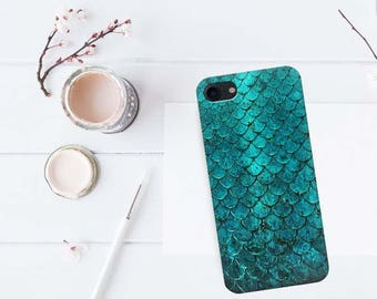 Scales case, iPhone 7, iPhone 6 case, iPhone 5 case, iPhone 7 case, iPhone 7 Plus case, Scales case, iPhone SE case, mermaid case, iPhone 5s