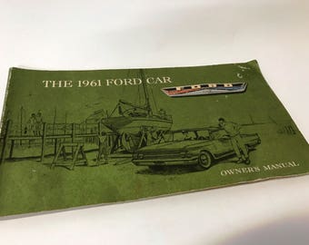 1961 Ford Car Manual
