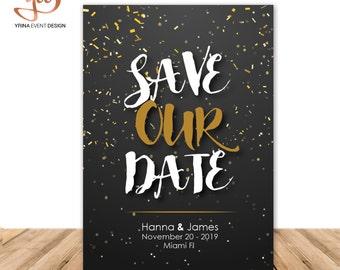 Save the Date Digital Invitation