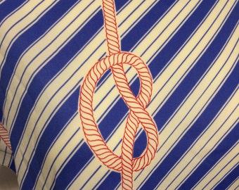 Achtung Original 80er Vintage Oberteil Shirt Marine Look Made in France