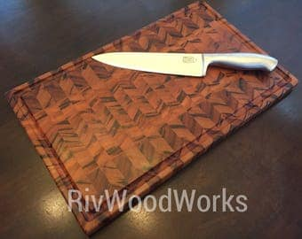 Tigerwood Cutting Board