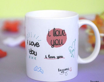 Cup-Many written i love you