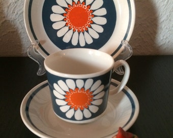 Turi Daisy design, Figgjo Flint Norway