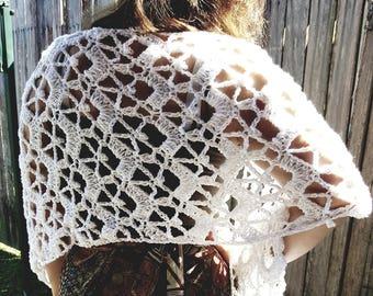 Handmade Crochet Shawl / Wrap