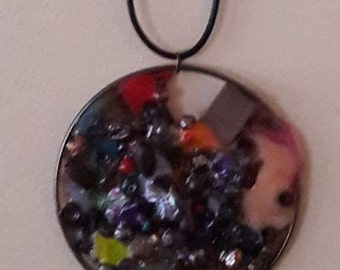 African inspired Pendant