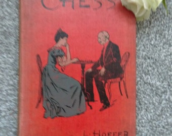 Vintage Chess book  By L Hoffer.  Eighth Edition.  Hardback.