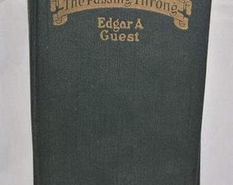 Antique 1923 The Passing Throng HC Book