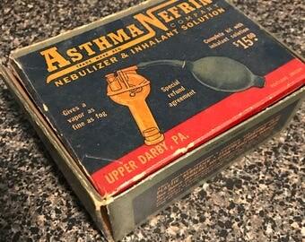 Asthma Nefrin Inhaler Set in Original Box