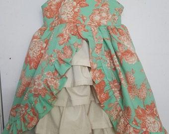 Girls dress, victorian, vintage, flower girl, easter dress