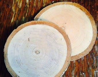 Wood slices (Round)