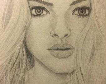 Amanda seyfried pencil in paper 8.5x11