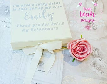 Luxury Bridesmaid Box - Medium