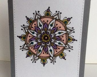 Small mandala card