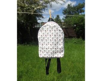 Alice in Wonderland Backpack - Small Backpack - Festival Bag - Cute Backpack