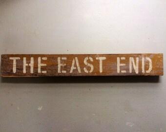 East End wall decór