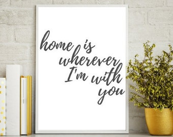 Home Is... - Wall Art
