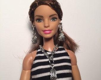 Barbie handmade Leaf jewelry