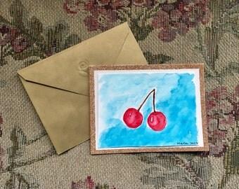 Fruit & Veggie Card // Greeting Card