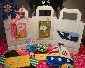 Pre-filled Personalised Children's Party Bags