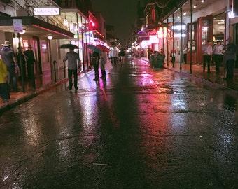 Rainy Night in NOLA