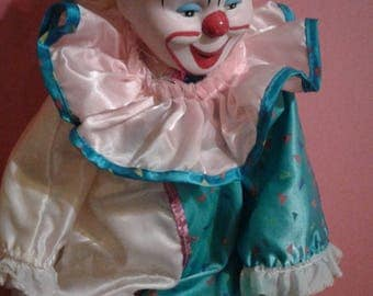 "Porcelain Clown 16"" - An Original Heritage Mint, Ltd"