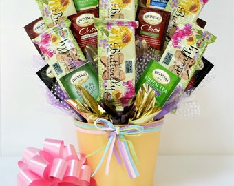 Gift Basket Tea Cookies For Her Mom Grandmother