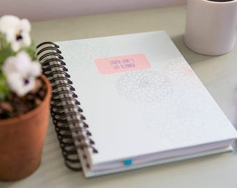 A4/A5 Life Planner - Pastel Posey