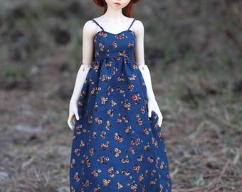 Summer dress for bjd MSD Minifee doll