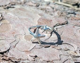 Starfish ring * silver * maritime sea * seastar