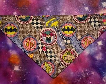 DC superhero girls bib
