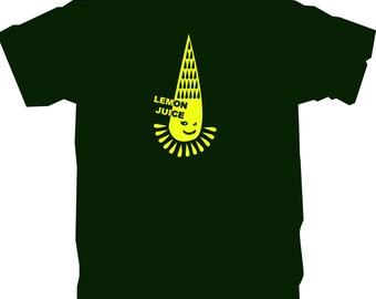 T-Shirt - Dark green - Lemon juice 2 - size M