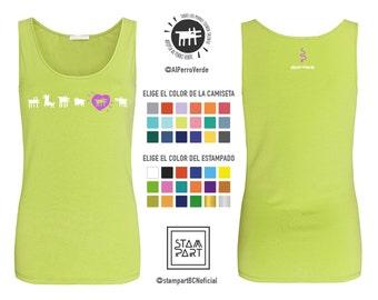 AlPerroVerde Tank Top-shirt solidarity