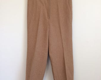 High Waist Pendleton Wool Pants