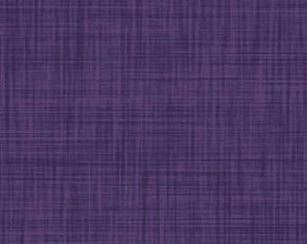 Plum Weave Texture // // Quilters Cotton