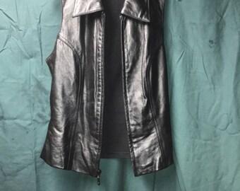 Woman's Black Vest