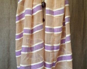 Nini Hand-Woven Organic Cotton Scarf