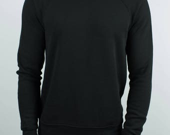Black Raglan Sweater