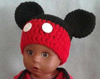 Newborn to 24 mos Character Hats
