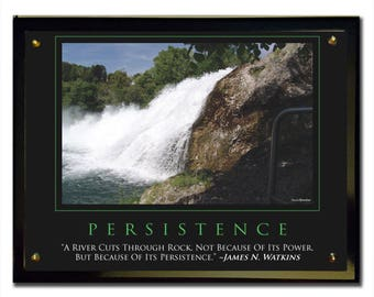 Persistence (River) Plaque