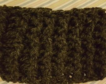 Chunky Crocheted Cowl