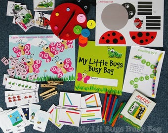 Busy Bag For Busy Kids (Little Bugs)