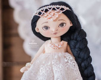 "Textile doll ""Princess"""