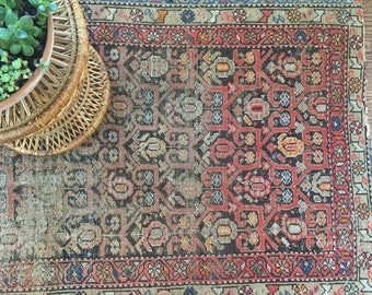 "3'x5'9"" Antique Persian Rug"