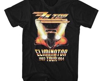 ZZ Top   tour band tee