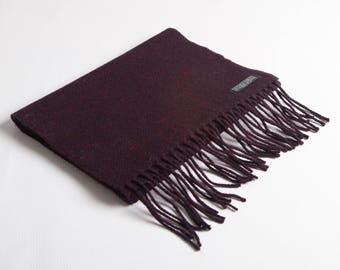 Blackberry Lambswool Scarf