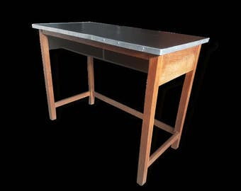 Old table Desk Office Industrial kitchen