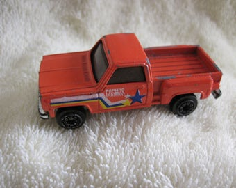 Vintage Die Cast Pickup Truck with decal c. 1990's