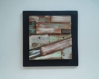 wall art, woodwork, frame, reclaimed wood, recycle art